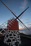 windmill nearby Calheta de Nesquim. Pico island
