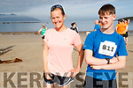 Pictured at the Brandon Bay Half Marathon and 10k were Emily Roberts (Fahamore) and Seamus Fitzpatrick (Brandon)
