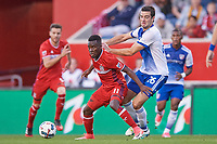 Bridgeview, IL - Thursday, May 25, 2017: The Chicago Fire played FC Dallas in a Major League Soccer (MLS) game at Toyota Park. The Chicago Fire defeated FC Dallas by the score of 2-1.
