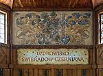 Świeradów Zdrój (woj. dolnośląskie) 26.07.2013. Pijalnia wody w Świeradowie-Zdroju.