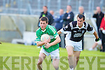 Ardfert's John Galvin and Killarney Legion's David O'Sullivan.