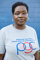 Principal Uvonda Willis, director of the Peer Group Connection at Greene Central Central High School in Snow Hill, NC Friday, September 22, 2017. (Justin Cook for Education Week)