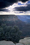 Afternoon light at the Grand Canyon from Yavapai Point, South Rim, Grand Canyon National Park, Arizona