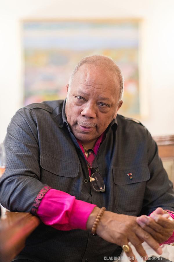 Montreux; Quincy Jones; 2013.07.18; Montreux Jazz Festival 2013
