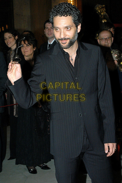 BEPPE FIORELLO.David di Donatello Awards 2005.Rome, Italy, April 29th 2005..half length waving.Ref: OME.www.capitalpictures.com.sales@capitalpictures.com.©Omega/Capital Pictures.