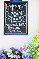 Homemade Cream Teas chalkboard