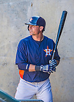 """7 March 2013: Houston Astros outfielder Rick Ankiel stands """"in-the-hole"""" during a Spring Training game against the Washington Nationals at Osceola County Stadium in Kissimmee, Florida. The Astros defeated the Nationals 4-2 in Grapefruit League play. Mandatory Credit: Ed Wolfstein Photo *** RAW (NEF) Image File Available ***"""