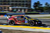 #71 PARK PLACE MOTORSPORTS PORSCHE 911 GT AMERICA PORSCHE PATRICK LINDSEY (USA) KEVIN ESTRE (FRA)