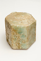 Beryl, large hexagonal crystal, approximately 15 cm tall. Acworth, New Hampshire, USA.