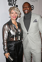 LOS ANGELES, CA - NOVEMBER 8: Rebecca Crews and Terry Crews at the Eva Longoria Foundation Dinner Gala honoring Zoe Saldana and Gina Rodriguez at The Four Seasons Beverly Hills in Los Angeles, California on November 8, 2018. Credit: Faye Sadou/MediaPunch
