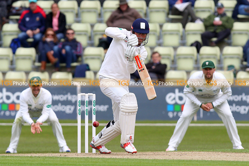 Alastair Cook in batting action for Essex during Worcestershire CCC vs Essex CCC, Specsavers County Championship Division 2 Cricket at New Road on 1st May 2016