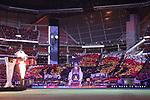 ATLANTA, GEORGIA - DECEMBER 08: Atlanta tifo. Atlanta United FC and the Portland Timbers played on December 8, 2018, at Mercedes Benz Stadium in Atlanta, Georgia in MLS Cup 2018. Atlanta United won the championship final 2-0.