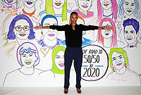 LOS ANGELES, CA - NOVEMBER 2: Zoe Saldana, at TheWrap&rsquo;s Power Women&rsquo;s Summit Day2 at the InterContinental Hotel in Los Angeles, California on November 2, 2018. <br /> CAP/MPI/FS<br /> &copy;FS/MPI/Capital Pictures