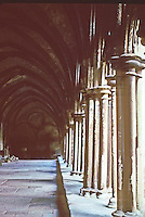 Salisbury: Salisbury Cathedral--Cloisters. Photo '90.