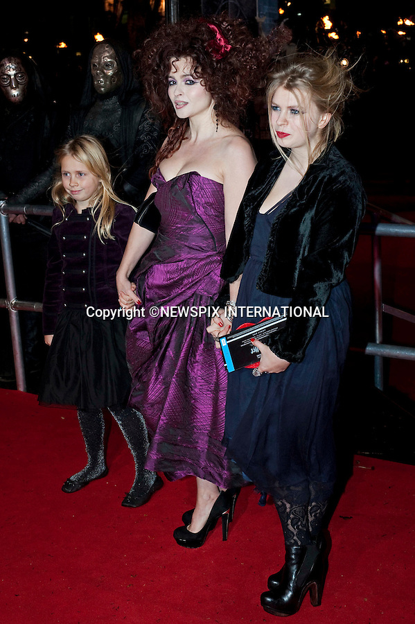 """HELENA BONHAM CARTER.HARRY POTTER AND THE DEATHLY HALLOWS PART 1 _ .Stars from the seventh film in the series gathered for the World Premiere at .the Odeon Leicester Square, London_England_11/10/2010..Mandatory Photo Credit: ©Dias/Newspix International..**ALL FEES PAYABLE TO: """"NEWSPIX INTERNATIONAL""""**..PHOTO CREDIT MANDATORY!!: NEWSPIX INTERNATIONAL(Failure to credit will incur a surcharge of 100% of reproduction fees)..IMMEDIATE CONFIRMATION OF USAGE REQUIRED:.Newspix International, 31 Chinnery Hill, Bishop's Stortford, ENGLAND CM23 3PS.Tel:+441279 324672  ; Fax: +441279656877.Mobile:  0777568 1153.e-mail: info@newspixinternational.co.uk"""