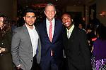 LOS ANGELES - DEC 6: Wilmer Valderrama, Keith McNutt, Trey at The Actors Fund's Looking Ahead Awards at the Taglyan Complex on December 6, 2015 in Los Angeles, California