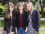 Megan Byrne, Abby Kelly and Sharon Curley who were confirmed in Holy Family Church Ballsgrove. Photo:Colin Bell/pressphotos.ie