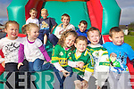 FUN IN THE SUN: Some of the children who turned out for the fun in the sun at the official opening of the Killorglin Family Resource Centre on Friday.