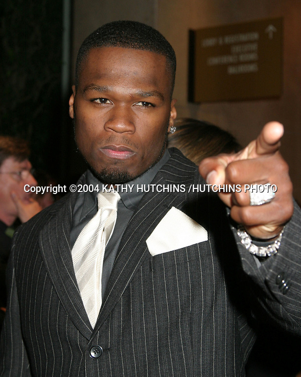 ©2004 KATHY HUTCHINS /HUTCHINS PHOTO.13TH ANNUAL BAFTA /LA BRITANNIA AWARDS.LOS ANGELES, CA.NOVEMBER 4, 2004..50CENT