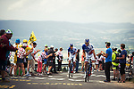 Mickael Delage (FRA) FDJ climbing during Stage 9 of the 104th edition of the Tour de France 2017, running 181.5km from Nantua to Chambery, France. 9th July 2017.<br /> Picture: ASO/Pauline Ballet | Cyclefile<br /> <br /> <br /> All photos usage must carry mandatory copyright credit (&copy; Cyclefile | ASO/Pauline Ballet)