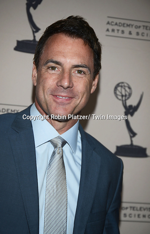 Mark Steines attends the Academy Of Television Arts & Science Daytime Programming  Peer Group Celebration for the 40th Annual Daytime Emmy Awards Nominees party on June 13, 2013 at the Montage Beverly Hills in Beverly Hills, California.