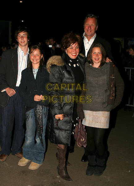 RUBY WAX & FAMILY.Cirque Du Soleil: Alegria - press night at the Royal Albert Hall, London, UK..January 5th, 2006.Ref: AH.full length kids children.www.capitalpictures.com.sales@capitalpictures.com.©Capital Pictures