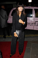 LONDON, ENGLAND - FEBRUARY 09 :  Claudia Winkleman arrives at the Charles Finch and Chanel pre-BAFTA party at Loulou's on February 09, 2019 in London, England.<br /> CAP/AH<br /> &copy;Adam Houghton/Capital Pictures