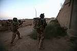 Soldiers with the Canadian Royal 22nd Regiment ambush and kill three Taliban fighters in the village of Zalakhan in Kandahar province, Afghanistan. Aug. 8, 2009. DREW BROWN/STARS AND STRIPES