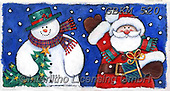 Kate, CHRISTMAS SANTA, SNOWMAN, WEIHNACHTSMÄNNER, SCHNEEMÄNNER, PAPÁ NOEL, MUÑECOS DE NIEVE, paintings+++++Christmas page 8 3,GBKM520,#x#