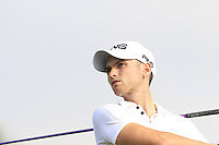 Daniel Gavins (ENG) tees off the 10th tee during Thursday's Round 1 of the 2016 Portugal Masters held at the Oceanico Victoria Golf Course, Vilamoura, Algarve, Portugal. 19th October 2016.<br /> Picture: Eoin Clarke | Golffile<br /> <br /> <br /> All photos usage must carry mandatory copyright credit (&copy; Golffile | Eoin Clarke)