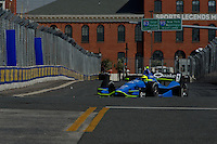 BALTIMORE - AUGUST 31: Josef  Newgarden during Practice for the IZOD IndyCar Series  Baltimore Grand Prix at the Baltimore Temporary Street Course on August 31 , 2012 in Baltimore, Maryland. 08/31/12. (Ryan Lasek/Eclipse Sportswire)