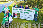 UP THE AISLE: Ballyduff GAA Club members who are organising a Mock Wedding to raise funds for the club, l-r: Katie McCabe, Mike Guerin, Anthony O'Carroll (Chairman), JP Hussey (Treasurer), Kevin O'Carroll, Mike Enright, Liam Ross (Secretary).