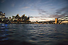 Sydney Harbour Opera House at dusk, Australia