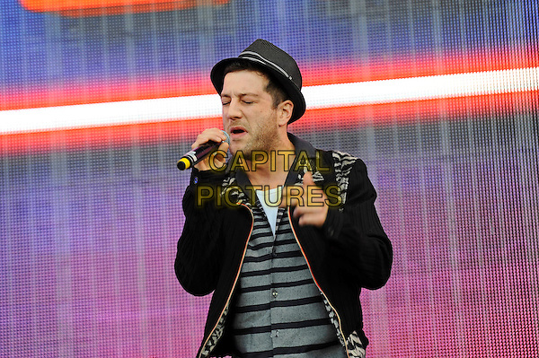 LONDON, ENGLAND - SEPTEMBER 12: Matt Cardle performing at BBC Proms In The Park, Hyde Park on September 12, 2015 in London, England.<br /> CAP/MAR<br /> &copy; Martin Harris/Capital Pictures
