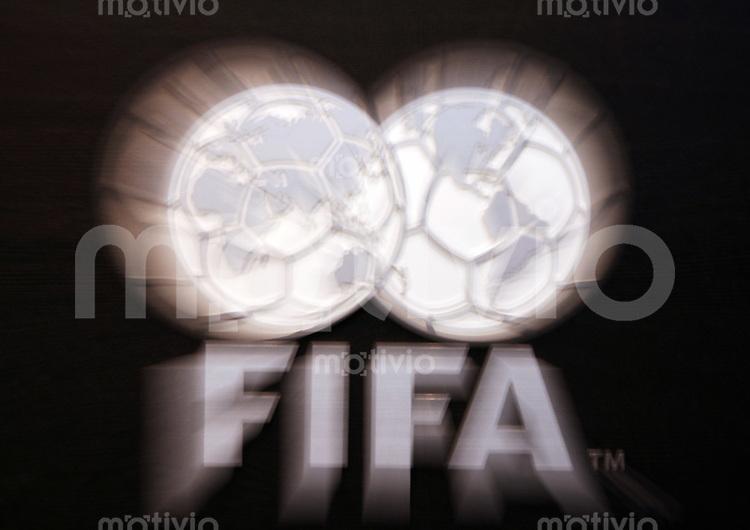 Fussball International FIFA Emblem im Home of FIFA