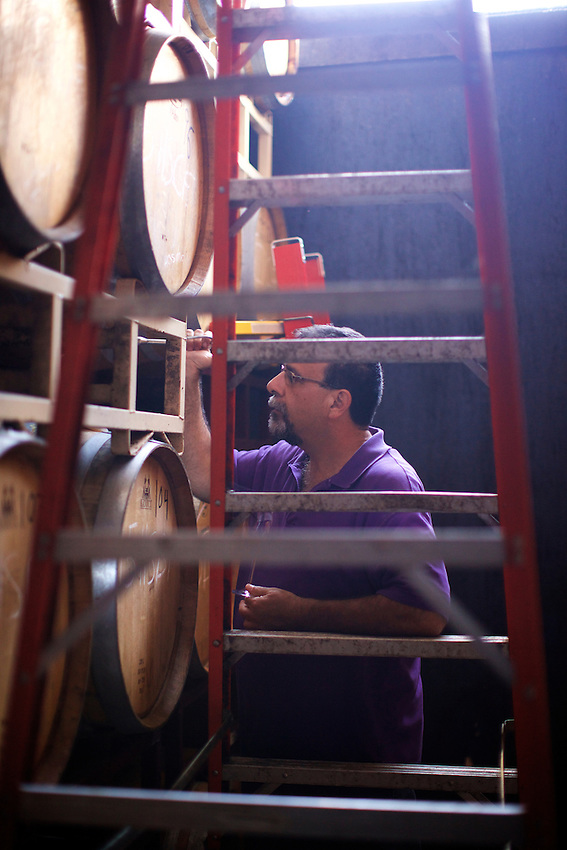 Hammond sport, NY - June 22, 2016: Touring Heron Hill Winery.<br /> CREDIT: Clay Williams.<br /> <br /> &copy; Clay Williams / claywilliamsphoto.com