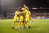 September 8th 2017, Stade Saint-Symphorien, Metz, France; French League 1 football, Metz versus Paris St Germain;  Yuri BERCHICHE (psg) and JULIAN DRAXLER (psg) celebrate