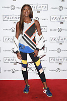 AJ Odudu<br /> at the closing party for Comedy Central UK's FriendsFest at Clissold Park, London<br /> <br /> <br /> ©Ash Knotek  D3307  14/09/2017