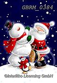 Roger, CHRISTMAS SANTA, SNOWMAN, WEIHNACHTSMÄNNER, SCHNEEMÄNNER, PAPÁ NOEL, MUÑECOS DE NIEVE, paintings+++++,GBRM0384,#x#