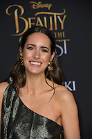 Louise Roe at the premiere for Disney's &quot;Beauty and the Beast&quot; at El Capitan Theatre, Hollywood. Los Angeles, USA 02 March  2017<br /> Picture: Paul Smith/Featureflash/SilverHub 0208 004 5359 sales@silverhubmedia.com