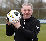 Ally McCoist looking ahead to the Ramsdens Cup final on Sunday