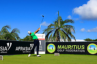 Jazz Janewattananond (THA) during previews for the Afrasia Bank Mauritius Open played at Heritage Golf Club, Domaine Bel Ombre, Mauritius. 29/11/2017.<br /> Picture: Golffile | Phil Inglis<br /> <br /> <br /> All photo usage must carry mandatory copyright credit (&copy; Golffile | Phil Inglis)