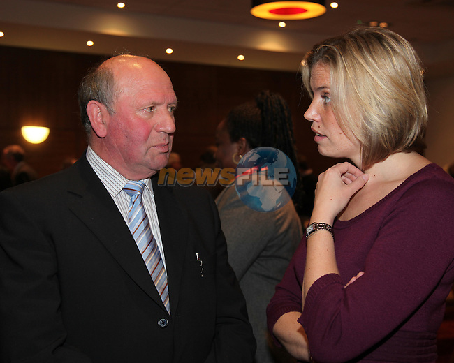 At the Launch of the County Louth Peace and Reconciliation Partnership Action plan 2008-2010 Institutional Sectarianism and Racism, in the Crowne Plaza Hotel Dundalk...Picture Fran Caffrey/Newsfile.ie