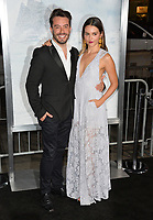 Juan Pablo Espinosa &amp; Julieth Restrepo at the premiere for &quot;Geostorm&quot; at TCL Chinese Theatre, Hollywood. Los Angeles, USA 16 October  2017<br /> Picture: Paul Smith/Featureflash/SilverHub 0208 004 5359 sales@silverhubmedia.com