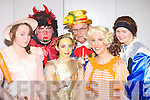Some of the cast from the Marian Players Mother Goose pantomime in Rathmore Community Centre on Sunday Fiona O'Donoghue, Brian Hickey, Leanne O'Riordan, Dan O'Donoghue, Sinead Murphy and Carmel O'Keeffe