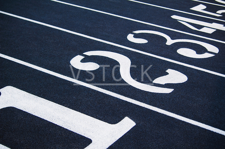 horizontal racing lane lanes number race track field sports recreation running walking athletic start competition fitness