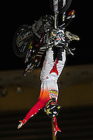 Australian Fmx rider Rob Adelberg during qualifying Red Bull X-Fighters 2016 at Madrid. 22,06,2016. (ALTERPHOTOS/Rodrigo Jimenez)
