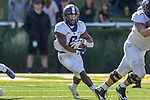 TCU Horned Frogs running back Darius Anderson (6) in action during the game between the TCU Horned Frogs and the Baylor Bears at the McLane Stadium in Waco, Texas.