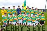 The Lixnaw U14 Feile hurling team that defeated  Causeway in the U14 Feile B Hurling Final in Abbeydorney on Monday.