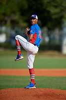 Jose Marte (10) during the Dominican Prospect League Elite Florida Event at Pompano Beach Baseball Park on October 14, 2019 in Pompano beach, Florida.  Jose Marte (10).  (Mike Janes/Four Seam Images)